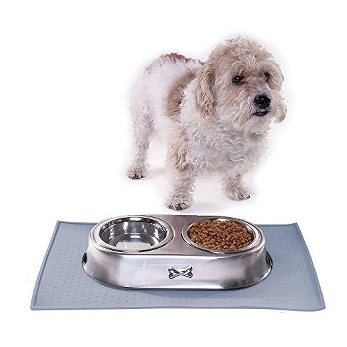 Dog Mat Yonkon Fda Grade Non Slip Waterproof Pet Food Placement