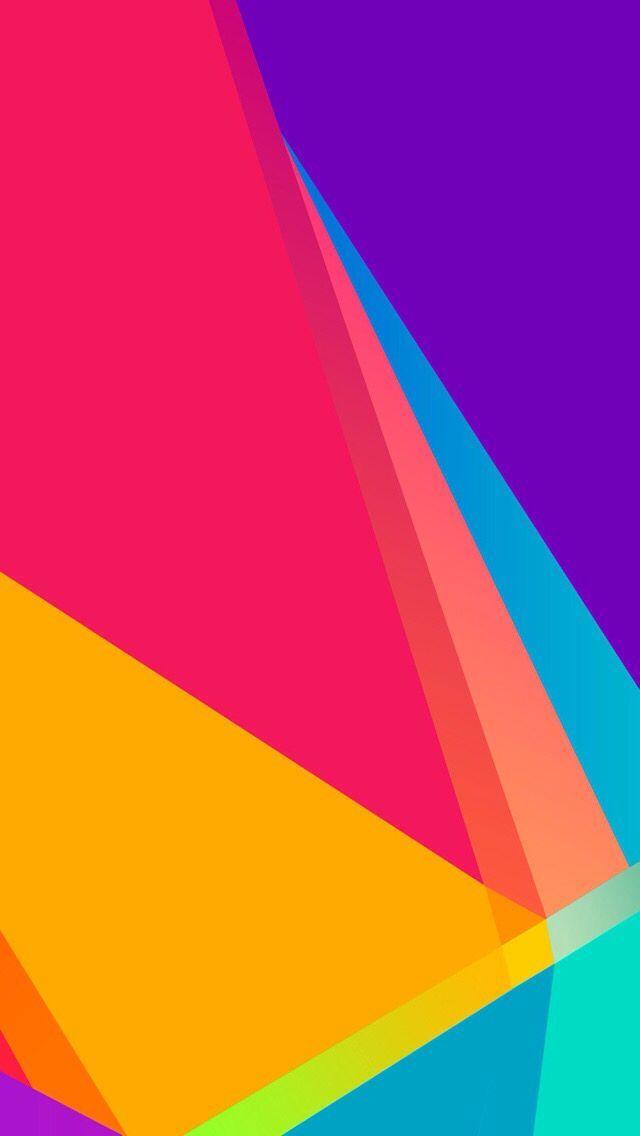 Free Colorful Geometric Wallpaper: #Colorful #Geometric IPhone Wallpaper