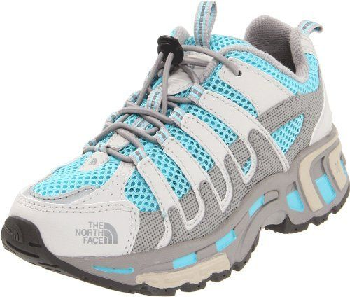 15209da51 North Face Betasso Trail Running Shoes Gray Youth Kids Girls The ...