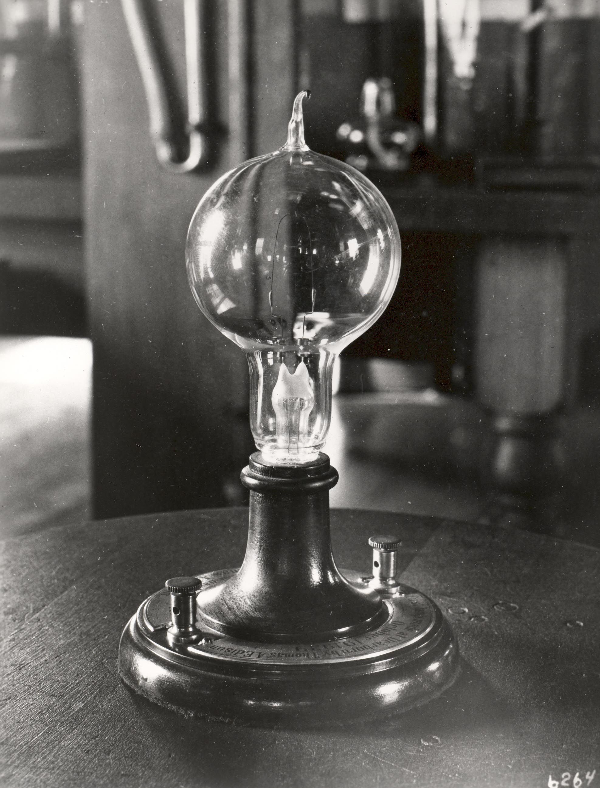 corning invented the glass bulb for thomas edison 39 s first light bulb originally each bulb was. Black Bedroom Furniture Sets. Home Design Ideas