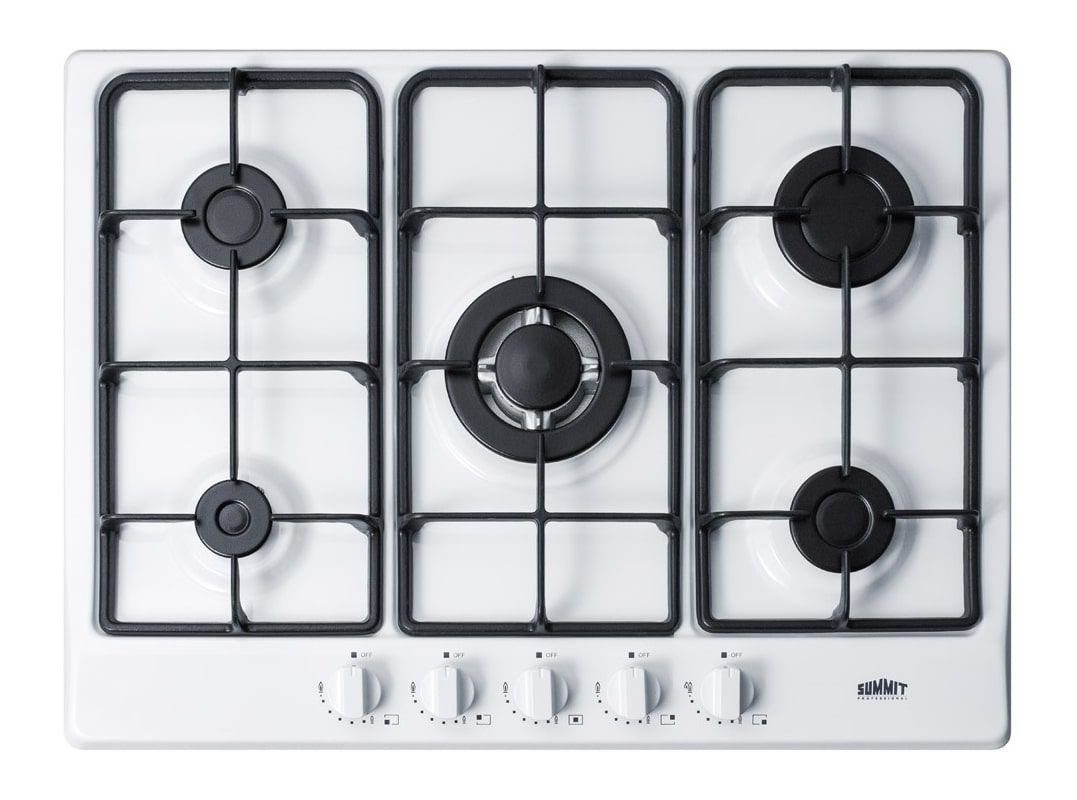 Summit Gc527 27 Inch Wide Built In Gas Cooktop With Sealed