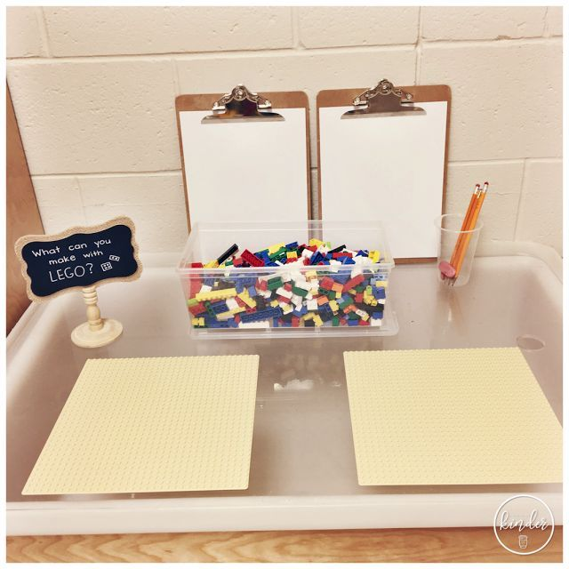 A Pinch of Kinder What Can You Make With Lego  is part of Classroom -