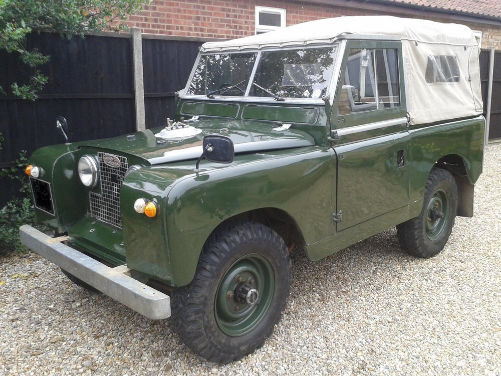 LANDROVER SWB 1960 TAX EXEMPT.88 Land rover