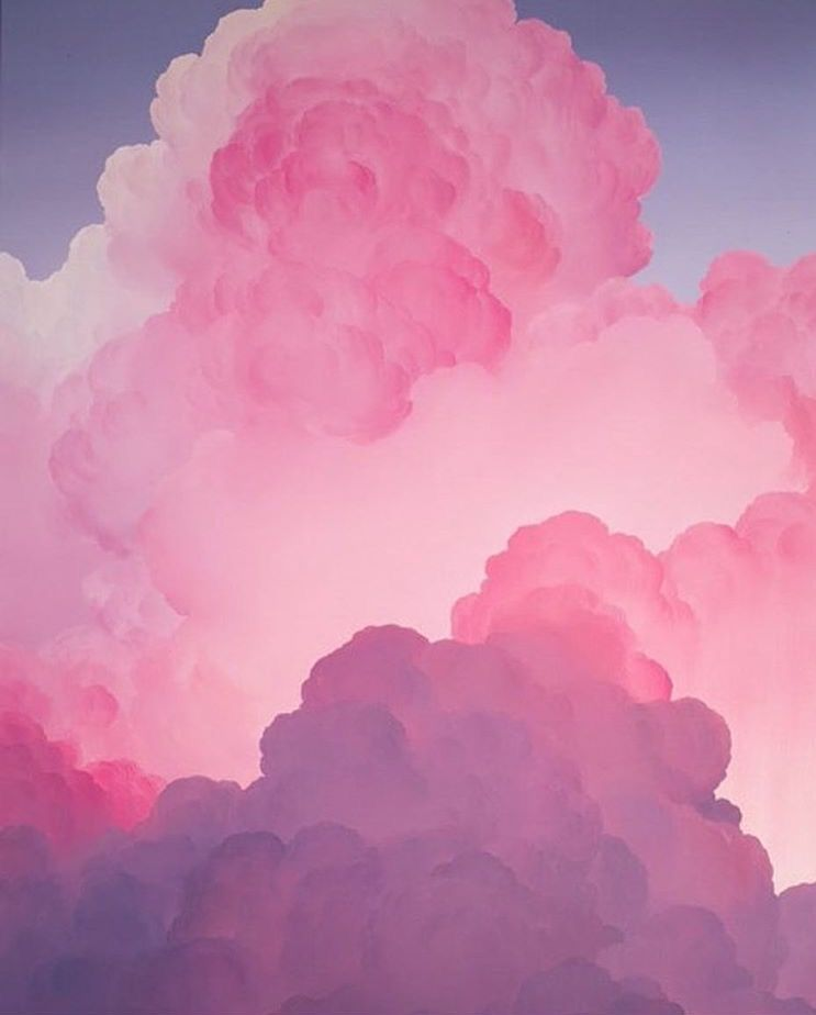 Cloud Wallpaper Hd: : Think Pink :