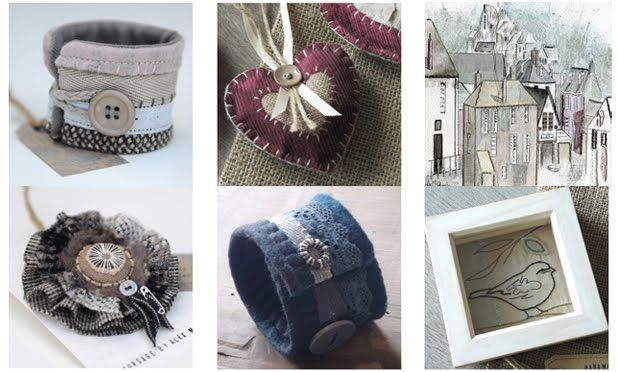 A selection of Alex McQuade's work which will be on show at the SOCK Fair 2013