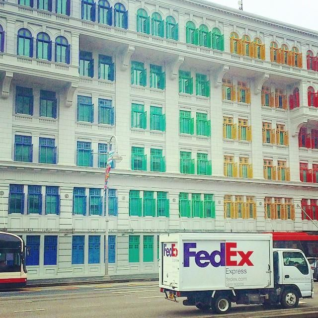 lycheeeesg found FedEx at the end of this rainbow