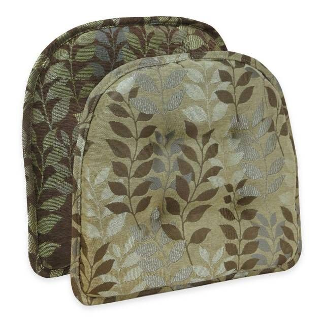 Fabulous Bed Bath Beyond Gripper Kitchen Chair Cushion Leaf Pabps2019 Chair Design Images Pabps2019Com