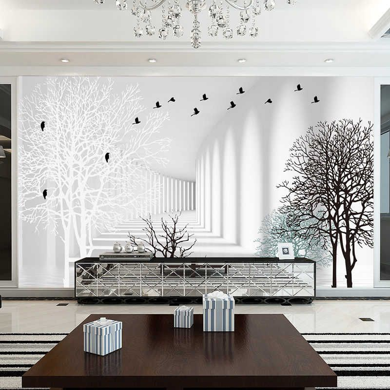 Beibehang Custom Wallpaper 3d Three Dimensional Extension Space Murals Minimalist Living Room Abstract Wood Background Wallpaper Photo 3d Photo 3d Wallpaper3d W Wall Wallpaper 3d Wallpaper 3d Wallpaper Abstract