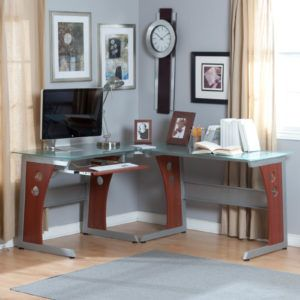 Slim Corner Computer Desk