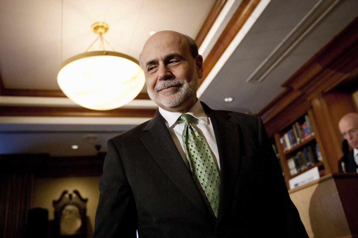 Talk To Alabama: Bernanke Inc.: Lucrative Life of a Former Fed Chai...