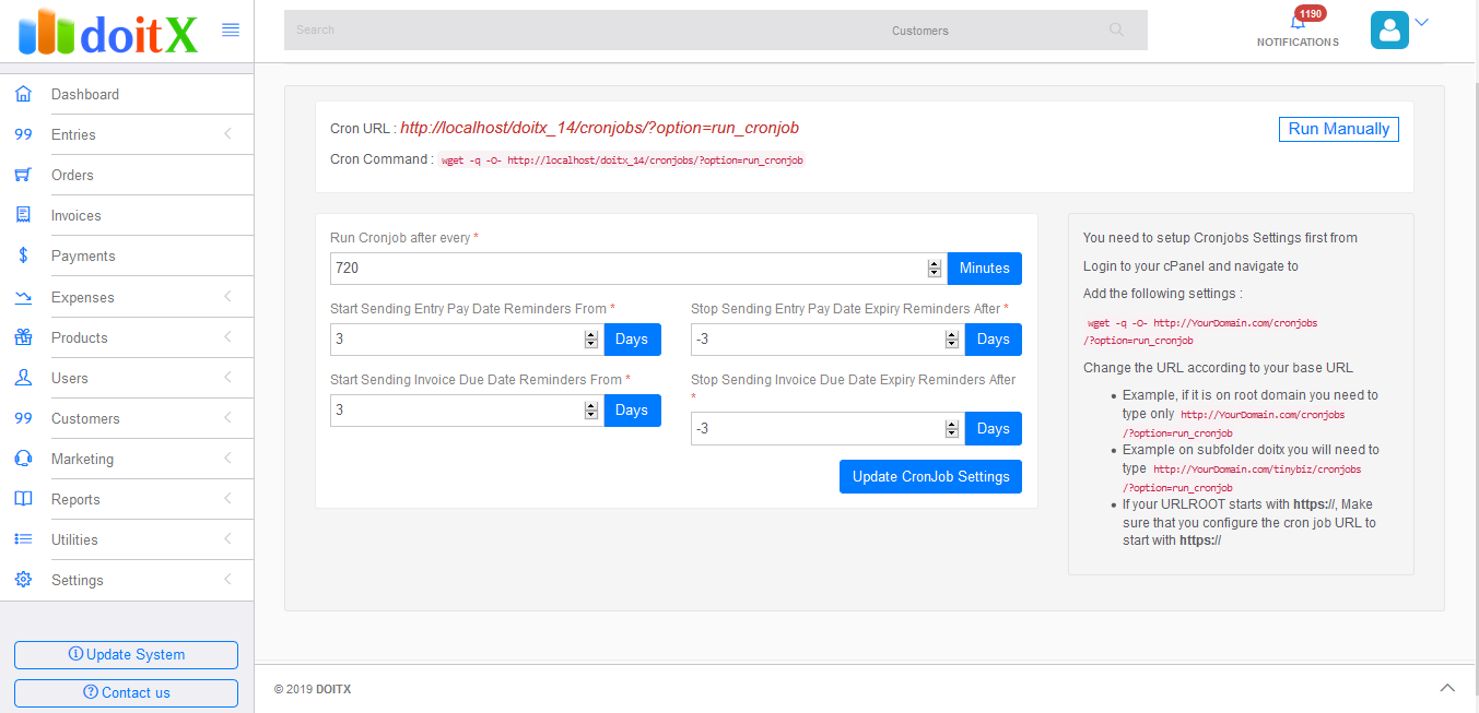 doitX : Complete Sales CRM with Invoicing, Expenses, Bulk