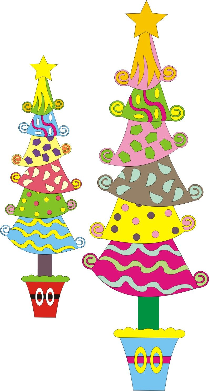 the gallery for  whoville christmas tree clip art