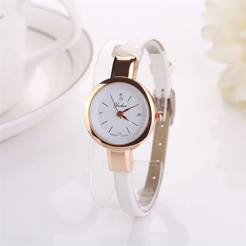 in normal watches analog brown accessories lyst forever product watch for pink rosegold gallery men leather faux