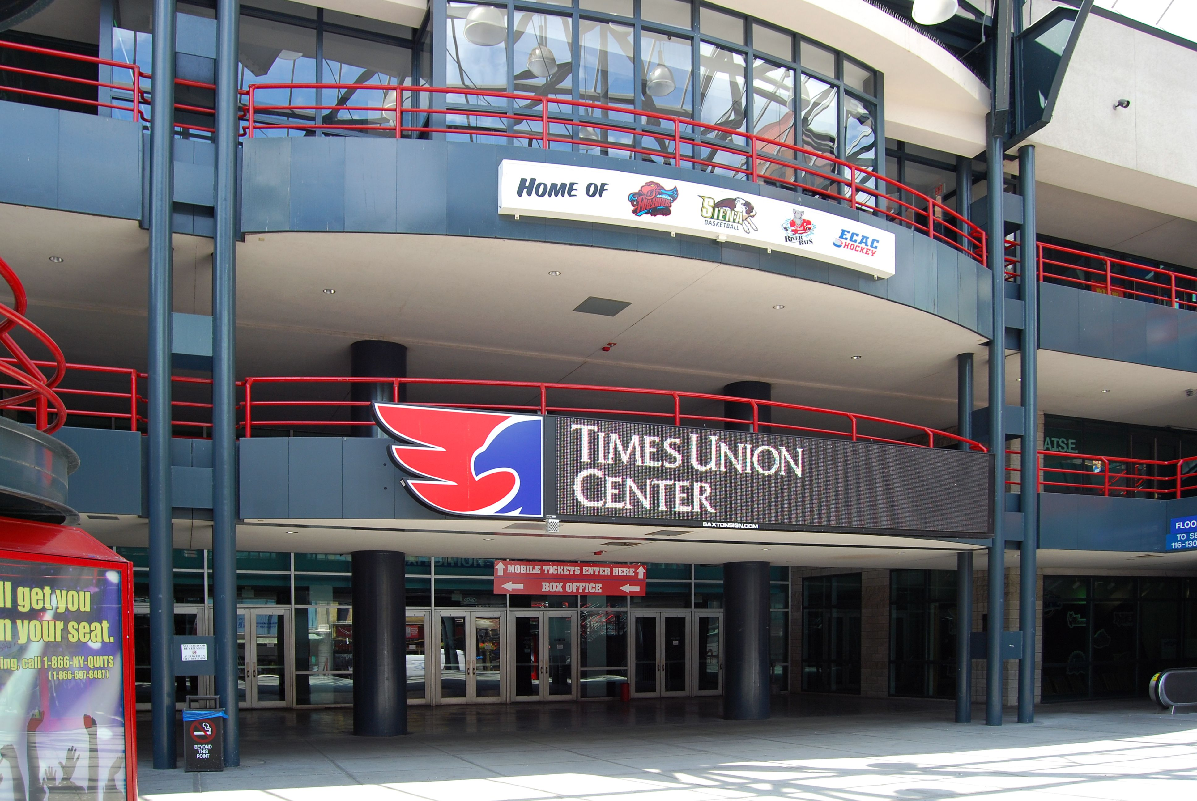 Times Union Center With Images Capital Region Capital District Albany