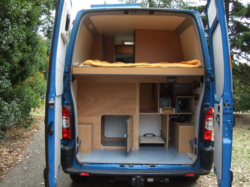 Afficher l 39 image d 39 origine van fourgon amenage - Camion amenage pour cuisine ...