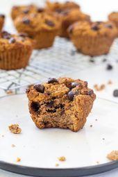 Healthy Grain Free Pumpkin Muffins