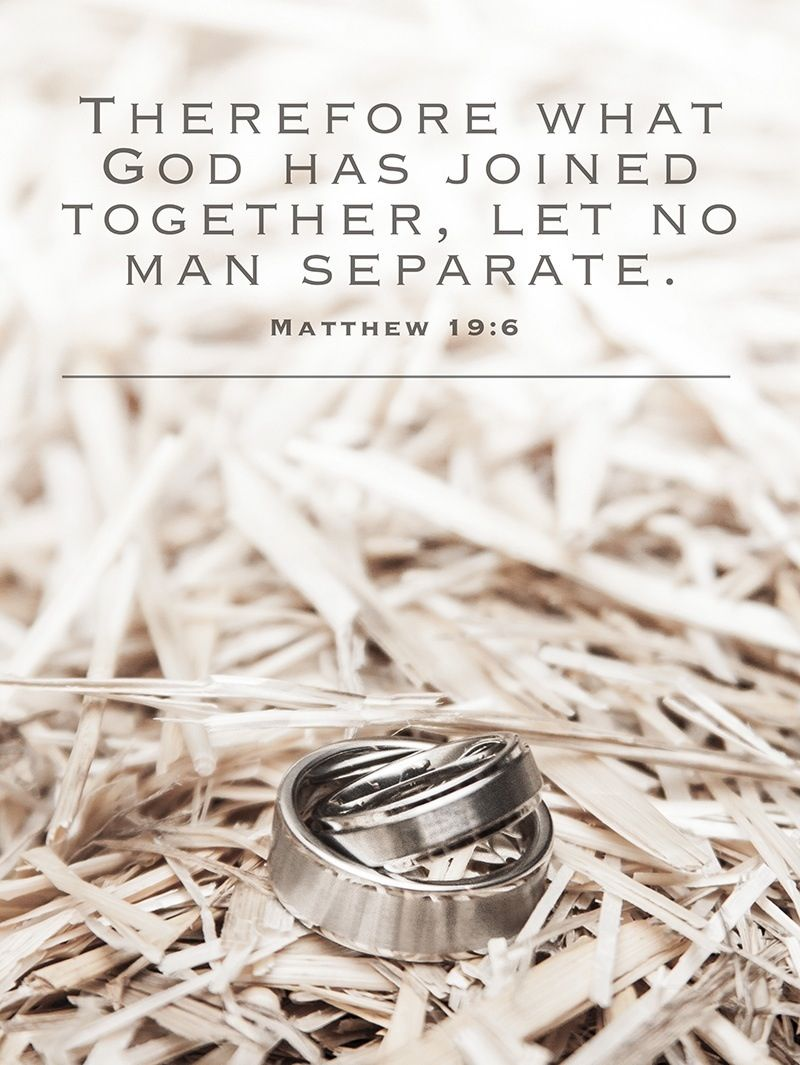 Matthew 196. For foundational (scriptural) truths