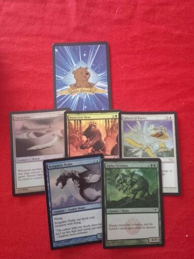 #goldengroundhogmagicthegathering  I ♡ this company they kick butt!