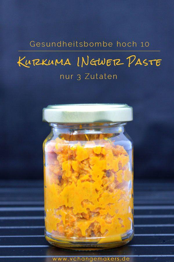 Photo of Rezept: Goldene Milch – Gesundheitsbombe hoch 10 OHNE Zucker