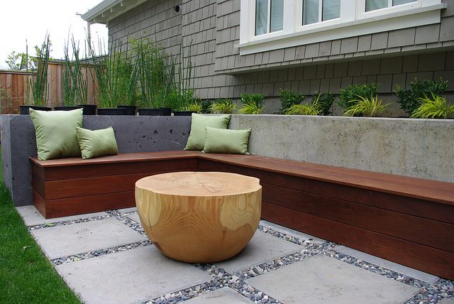 Point Grey Residence Built In Seating Backyard Seating Area Backyard Seating Outdoor Decor