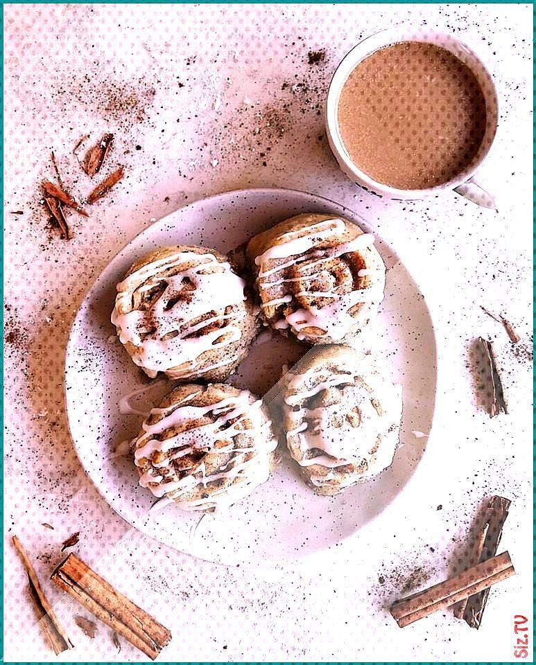 Sugar free Vegan Cinnamon Scrolls created by earthandlust rawearthsweetener sugarfree vegan delicio