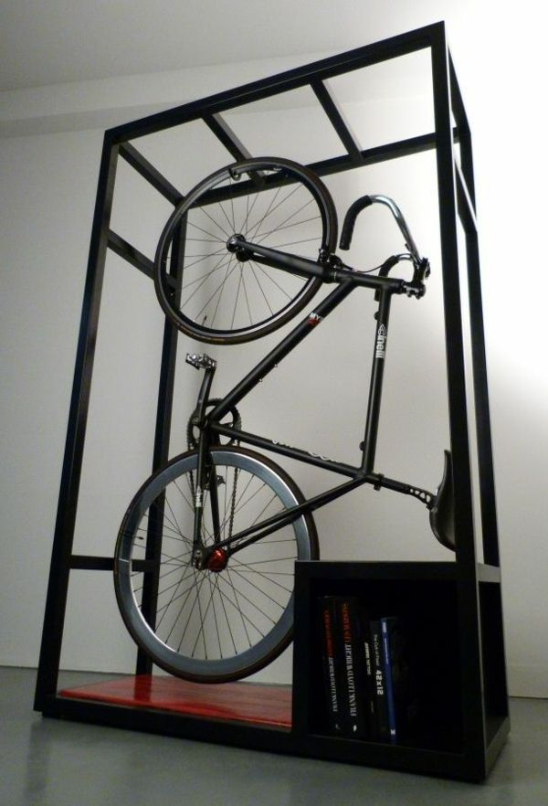 fahrrad wandhalterung eine praktische und effektvolle wanddeko fahrrad wandhalterung. Black Bedroom Furniture Sets. Home Design Ideas