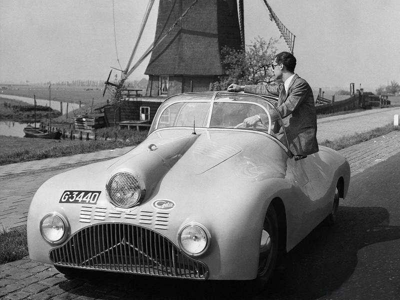The 1948 Gatso 4000 Sports Roadster: Holland\'s First Post-War Car ...