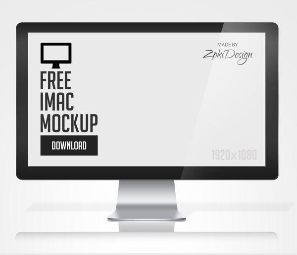 Apple Mac Mockup By Zokidesign Via Behance Free Stuff Web Mockup Mockup Templates Mockup