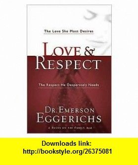 Love respect 1st first editon text only emerson eggerichs films fandeluxe Choice Image