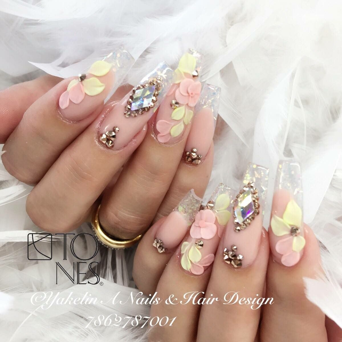 Crazy nails - Pin By 💎KIANIA💎 On CLAW COUTURE Pinterest Nail Nail, Manicure