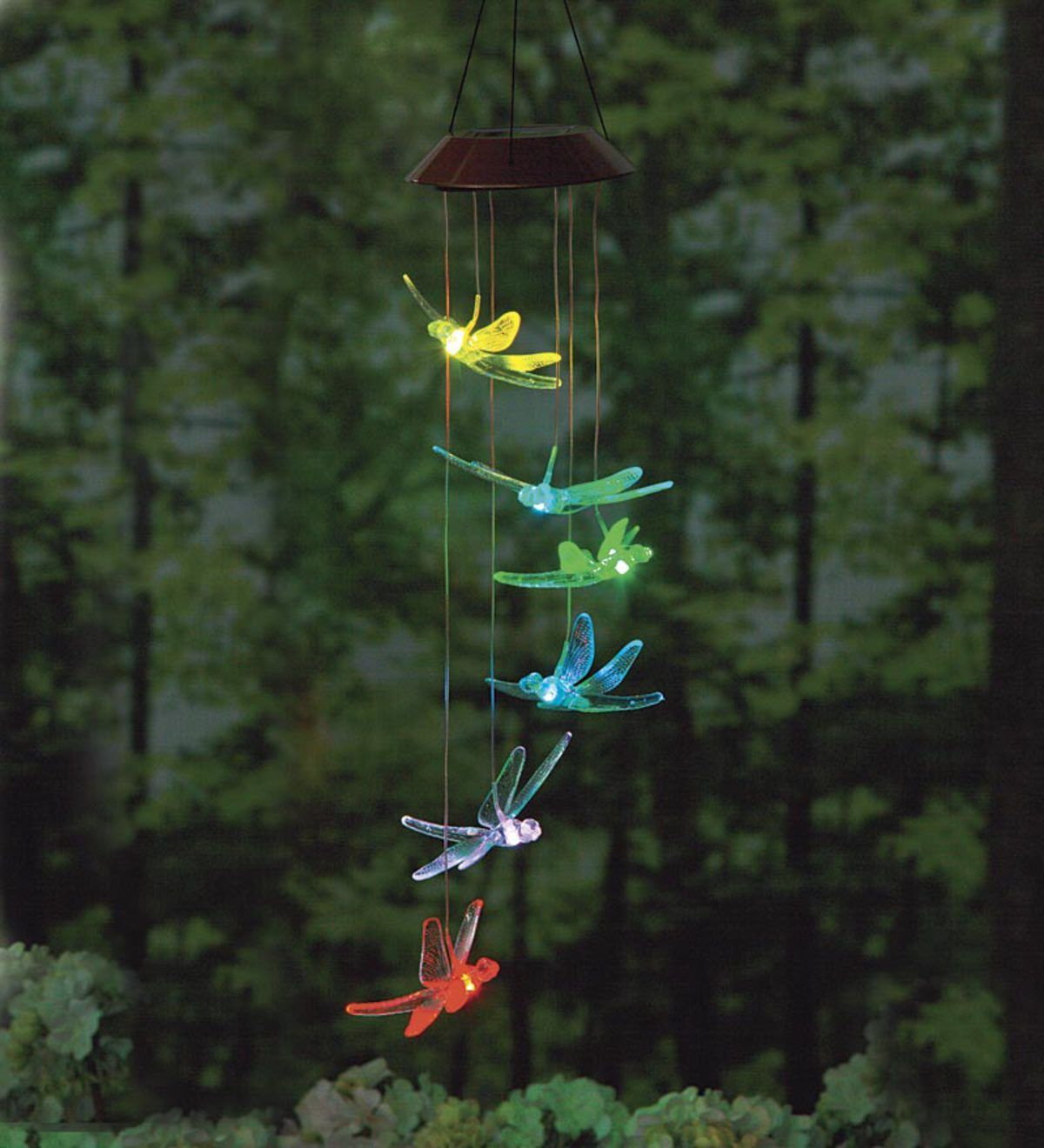 Let our enchanting Dragonfly Solar Mobile brighten your