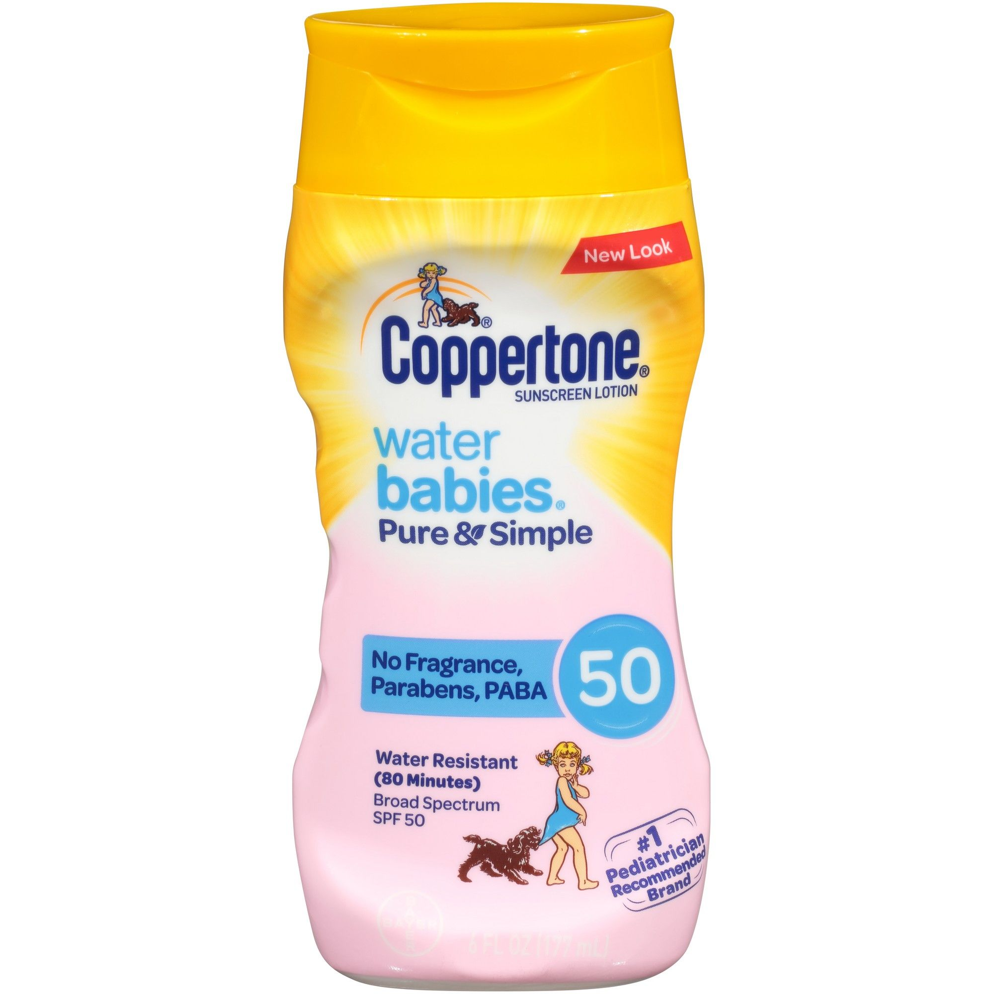 Coppertone Waterbabies Pure and Simple Free Sunscreen