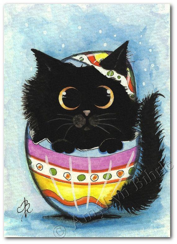 Amylynbihrle Avec Images Illustration De Chat Peinture Chat