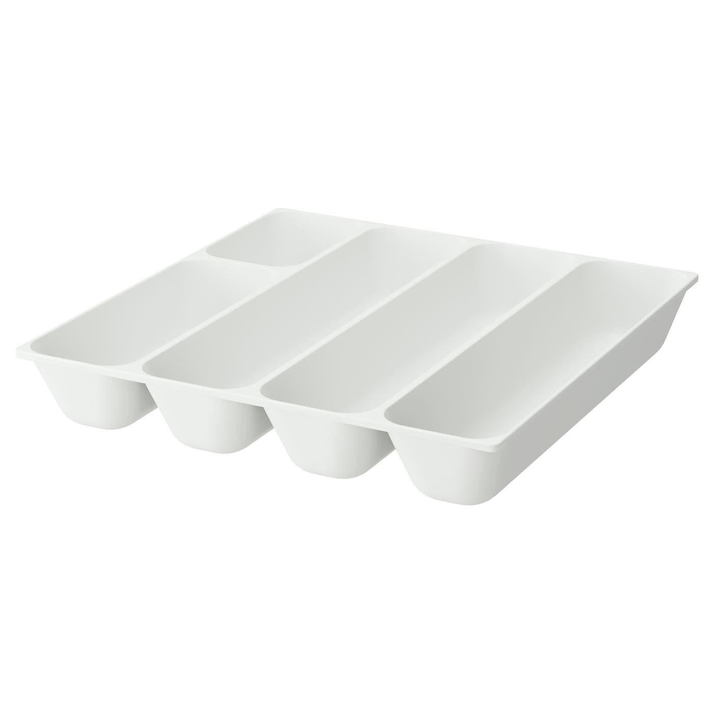IKEA VARIERA Besteckkasten - weiß
