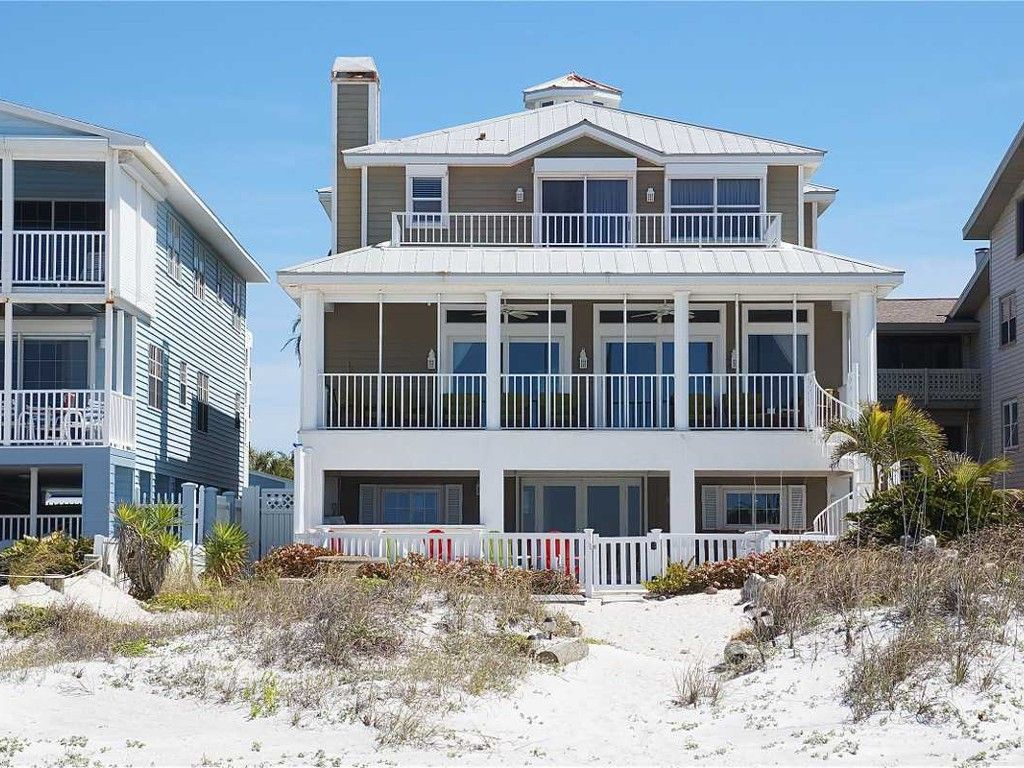 House Vacation Rental In Indian Shores From Vrbo Com Vacation Rental Travel Vrbo Beachfront House Beach House Rental Indian Shores