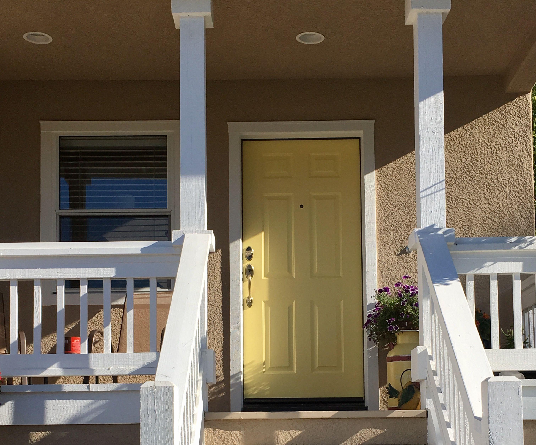 Mobili veranda ~ Sherwin williams sunny veranda yellow front door