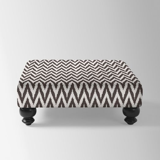 Remarkable Printed Essex Ottoman West Elm 350 Special 36 Square Alphanode Cool Chair Designs And Ideas Alphanodeonline