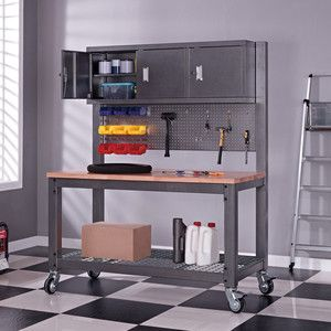 Mobile Industrial Work Bench Costco
