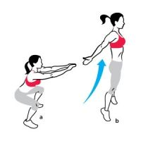 """the """"do anywhere"""" cross fit workout - 6 highly effective moves to blast fat and sculpt muscles!"""
