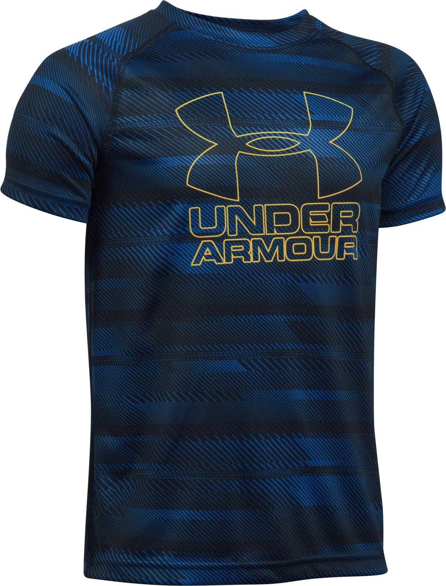 Under Armour Boys' Big Logo Printed T-Shirt, Size: Medium ...