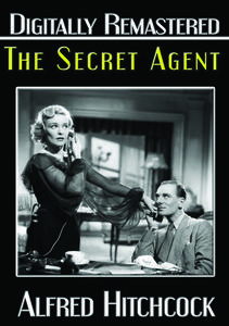 Secret Agent Remastered Manufactured On Demand Ntsc Format On Movies Unlimited Secret Agent Hitchcock Film Secret