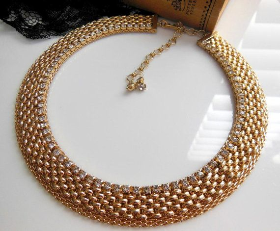 Vintage Jewels By Julio Gold Panther Chain by erisjewels on Etsy