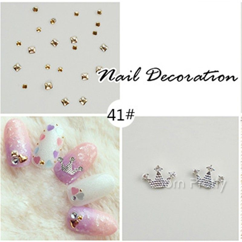 $6.45 12 Colors/box 3D Nail Art Dried Flower Decoration DIY Preserved Flower Nail Decoration - BornPrettyStore.com