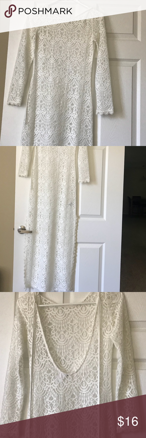 H&m lace dress white  HuM White lace dress  White lace dresses White lace and Lace dress