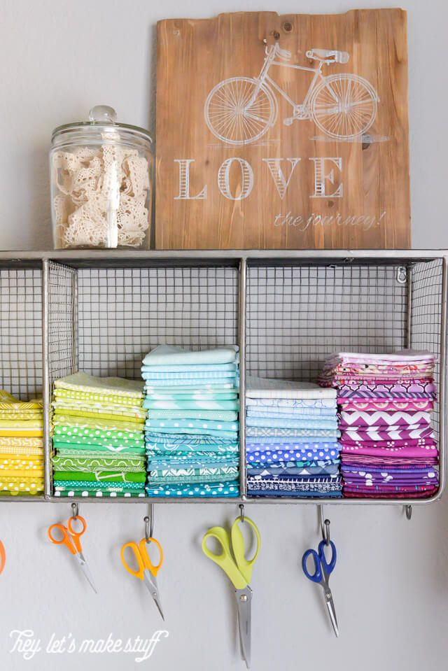 Bright and Beautiful Sewing Corner | Small spaces, Quilting room and ...
