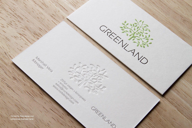 RockDesign.com   Letterpress Business Cards -→ http://www ...