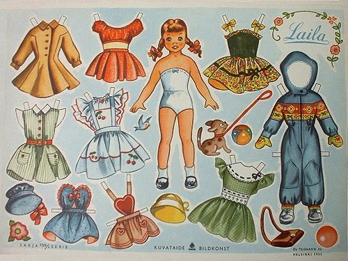 picture regarding Printable Vintage Paper Dolls called Printable Traditional Paper Doll Paper dolls Classic Paper