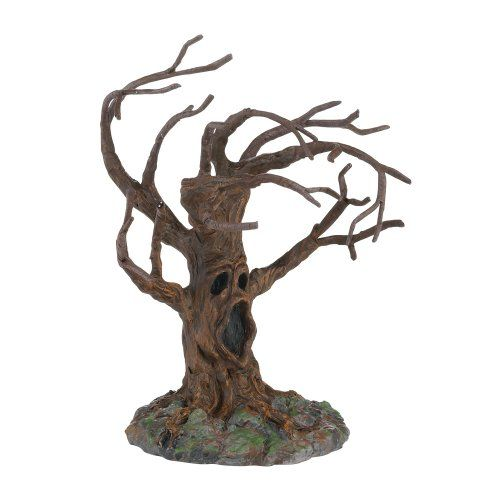 department 56 4025411 halloween accessories for dept 56 village collections stormy night tree 5