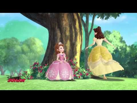 ▶ Sofia The First - The Amulet And The Anthem - Song ft Belle - YouTube