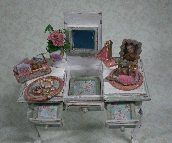 Mueble tocador peinadora de señora. por Saramanus en Etsy ...